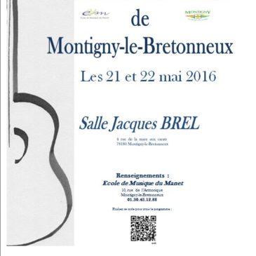 Le Concours De Guitare de Montigny-le-Bretonneux